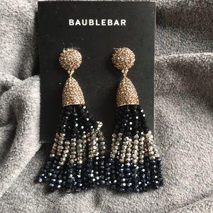 Baublebar sparkly tassel earrings